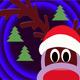 Santa Snow Sliding Sleigh