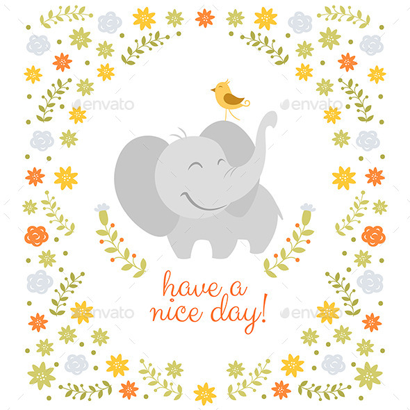 Have a Nice Day Illustration - Backgrounds Decorative