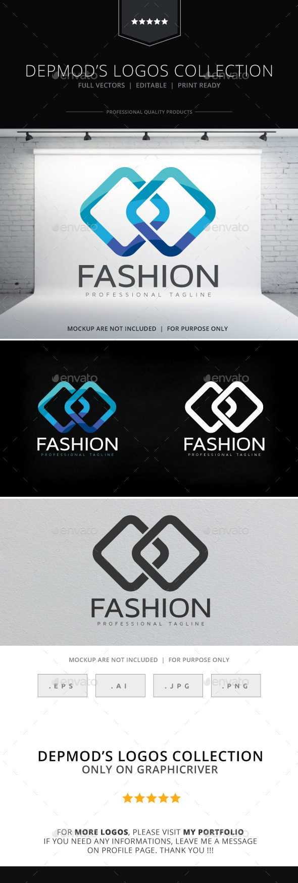 Fashion Logo - Abstract Logo Templates