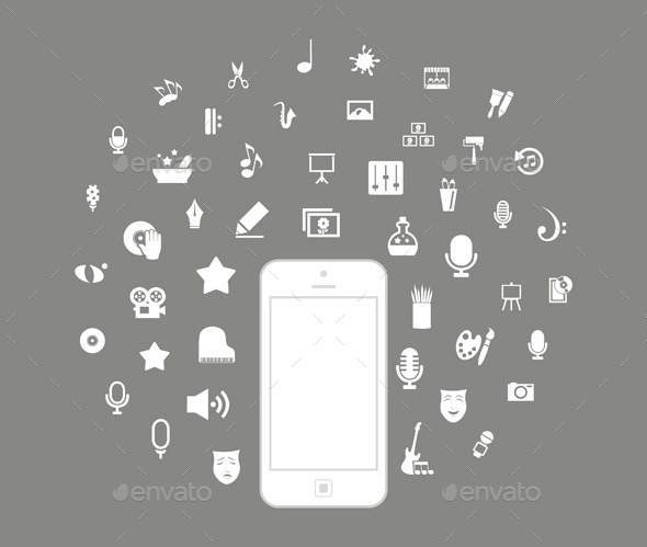 Phone Art - Communications Technology
