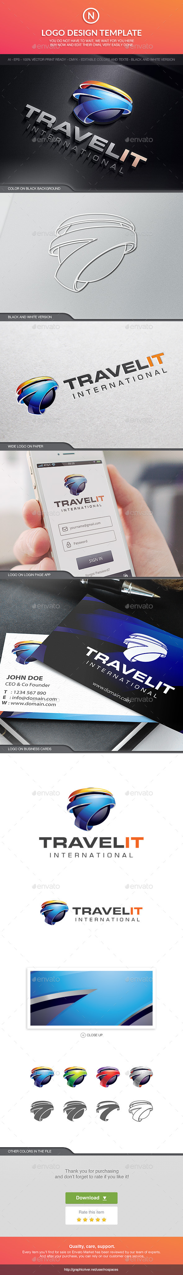 Travelit - 3d Abstract