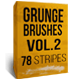 Grunge brushes Vol.2 - 78 stripes - GraphicRiver Item for Sale