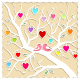 Springtime Love Tree and Birds - GraphicRiver Item for Sale