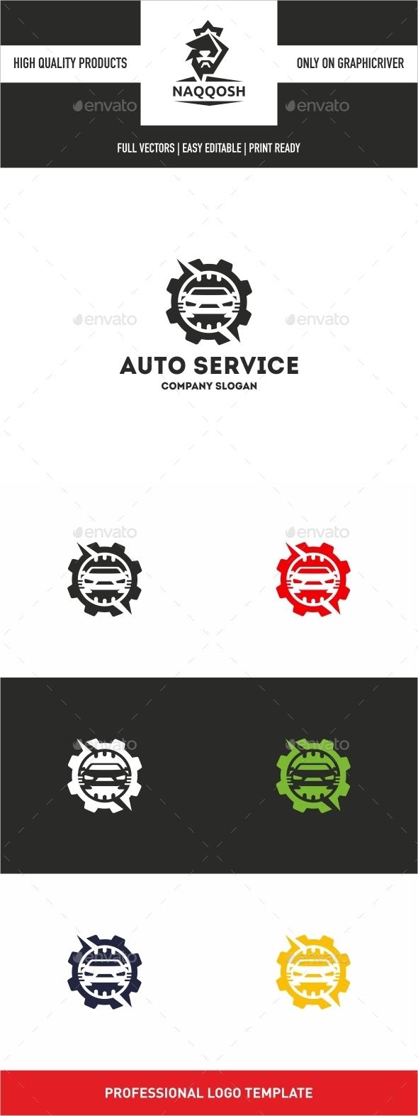 Auto Service  - Logo Templates
