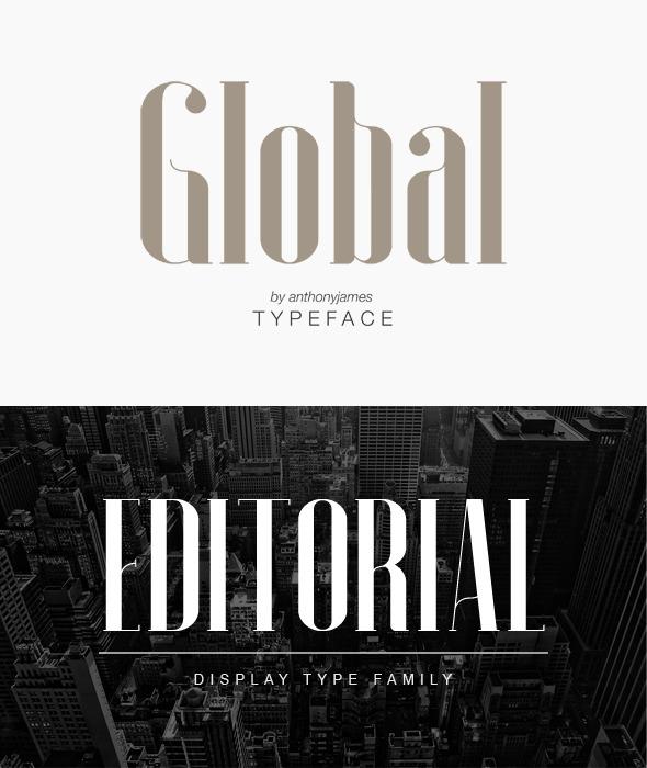 Global - Serif Fonts