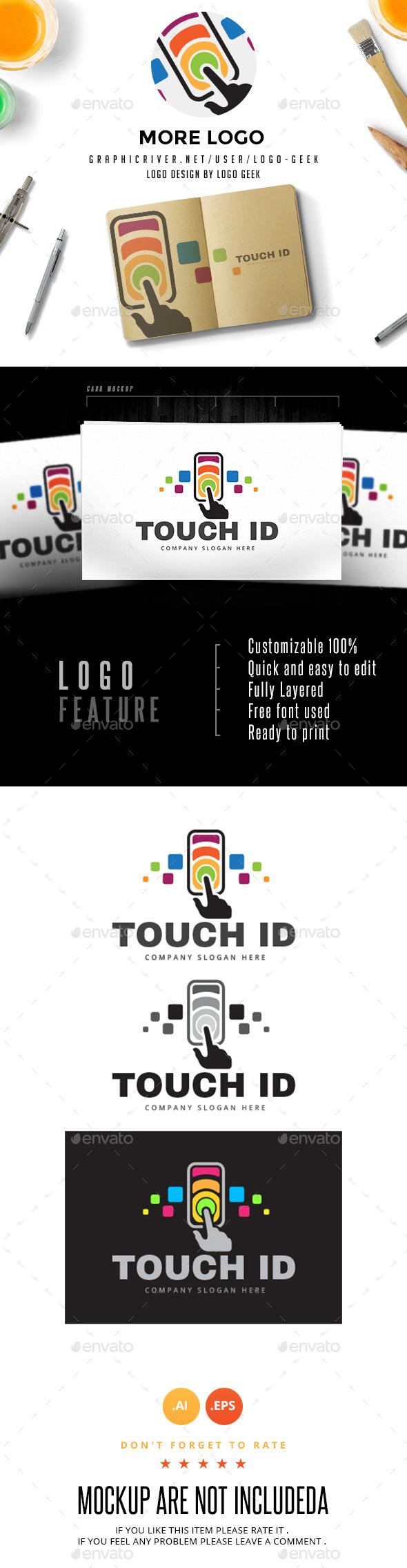 Touch Id Logo - Logo Templates
