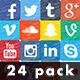 Social Media Hand Drawn Icons Pack - VideoHive Item for Sale