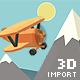 Low Poly .OBJ Importer