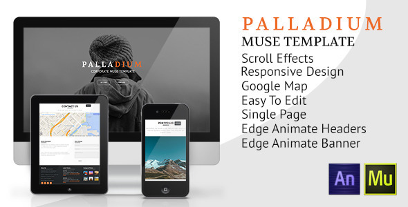 Palladium Muse Template - Muse Templates