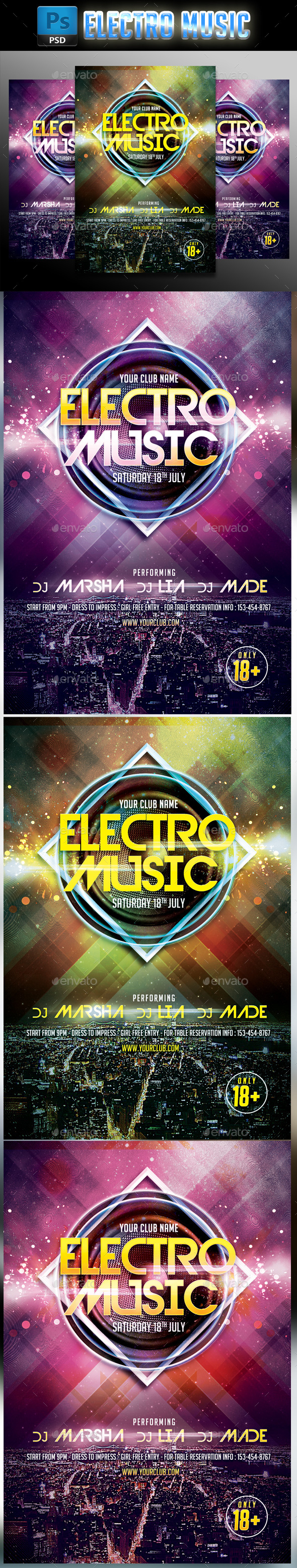 Electro Music #2 - Clubs & Parties Events