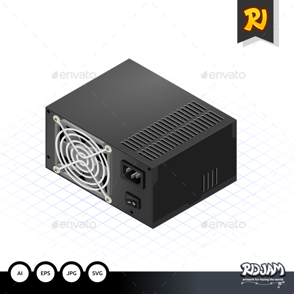 Isometric Power Supply - Computers Technology