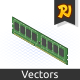 Isometric RAM - GraphicRiver Item for Sale