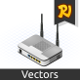 Isometric Wireless Router - GraphicRiver Item for Sale