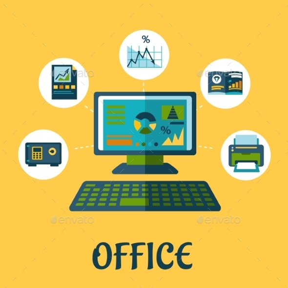 Business and Office Concept Design - Web Technology