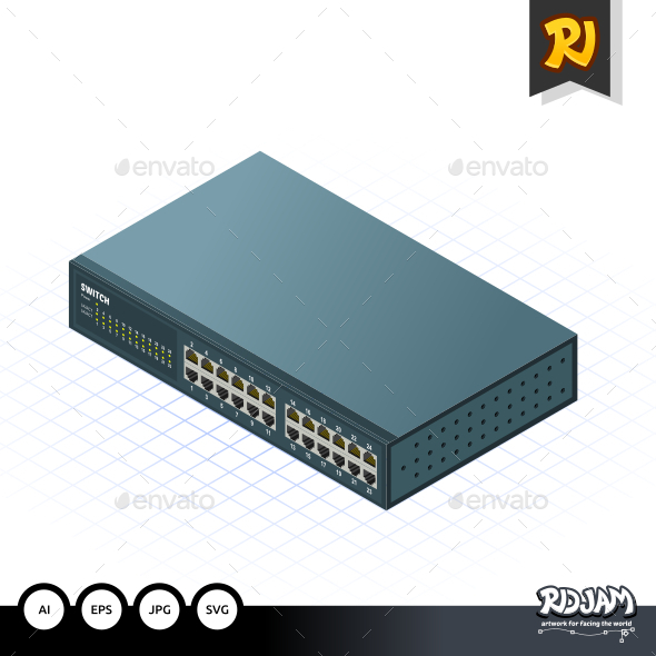 Isometric Switch - Computers Technology