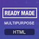 Multipurpose Landing Page Template - ReadyMade - ThemeForest Item for Sale