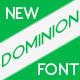 Dominion typeface