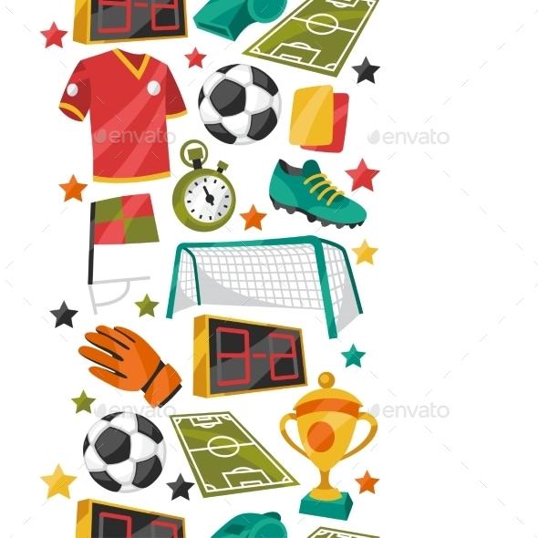 Sports Pattern - Sports/Activity Conceptual