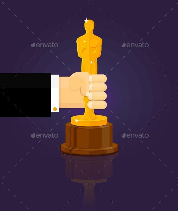 Oscars Winner - Man-made Objects Objects