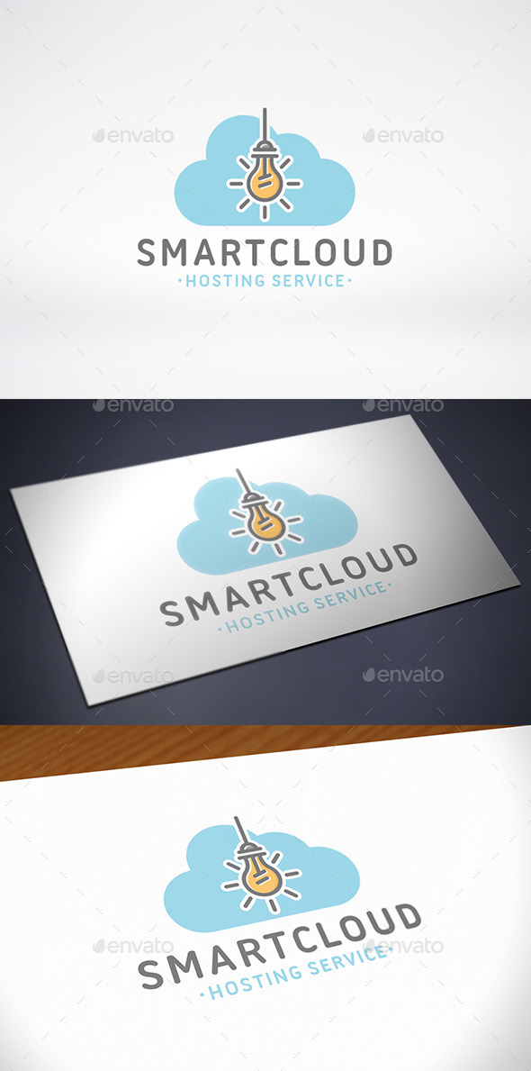 Cloud Idea Logo Template - Symbols Logo Templates