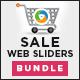 Sales Sliders Bundle - 3 Designs