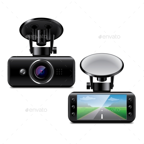 Car DVR - Miscellaneous Vectors