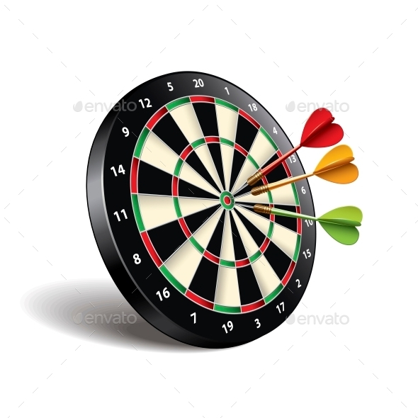 Darts Target - Sports/Activity Conceptual