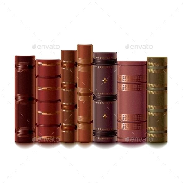 Old Books - Miscellaneous Vectors