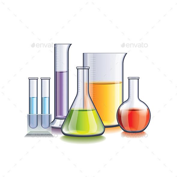 Laboratory Glassware - Health/Medicine Conceptual
