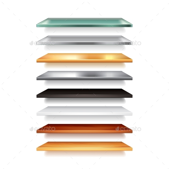 Shelves - Backgrounds Decorative