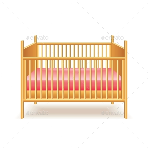 Baby Bed  - Miscellaneous Vectors