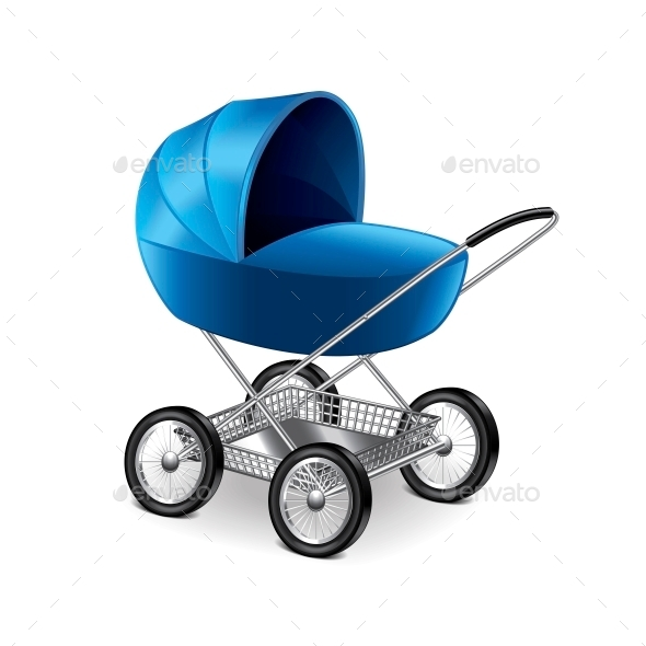 Baby Stroller - Miscellaneous Vectors
