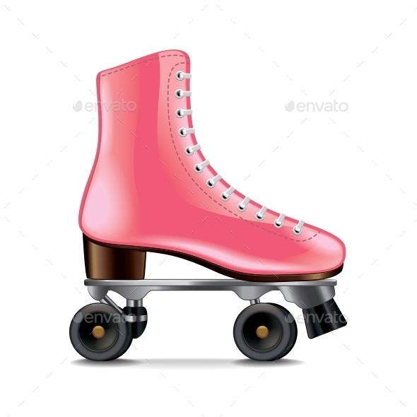 Roller Skates - Sports/Activity Conceptual
