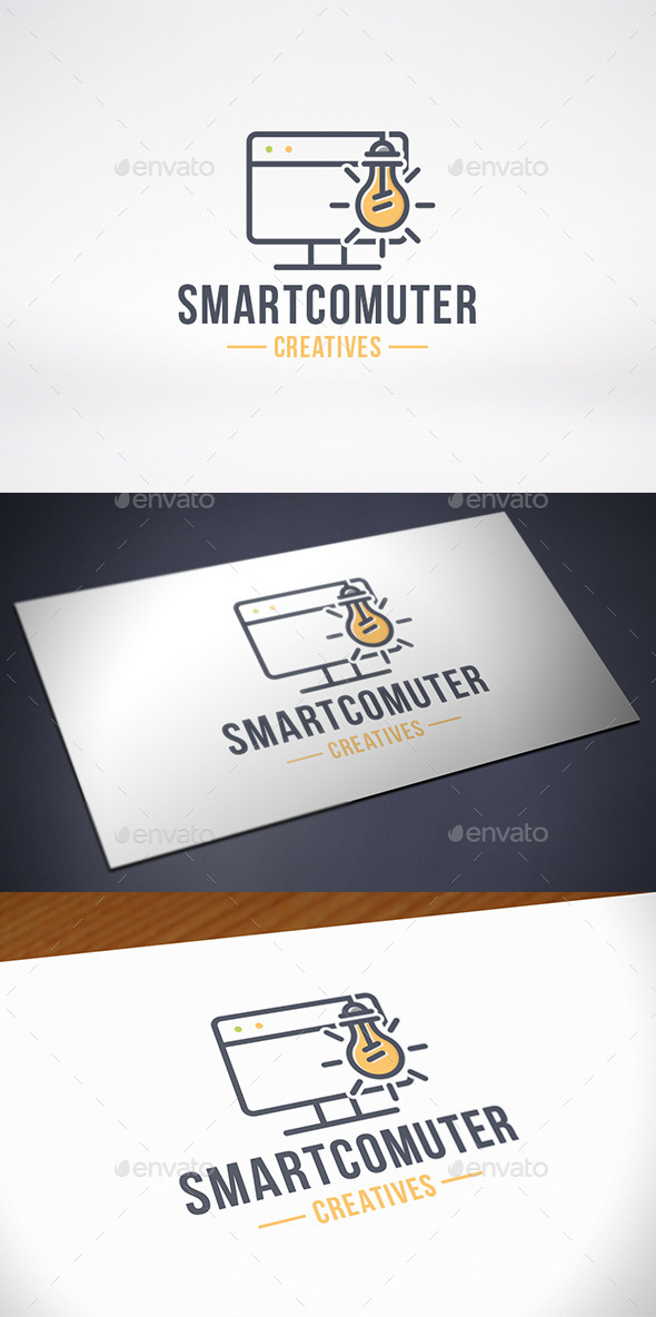 Computer Idea Logo Template - Objects Logo Templates
