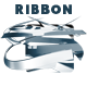 Simple Ribbon Logo