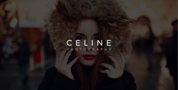 Celine – Creative Photography Template