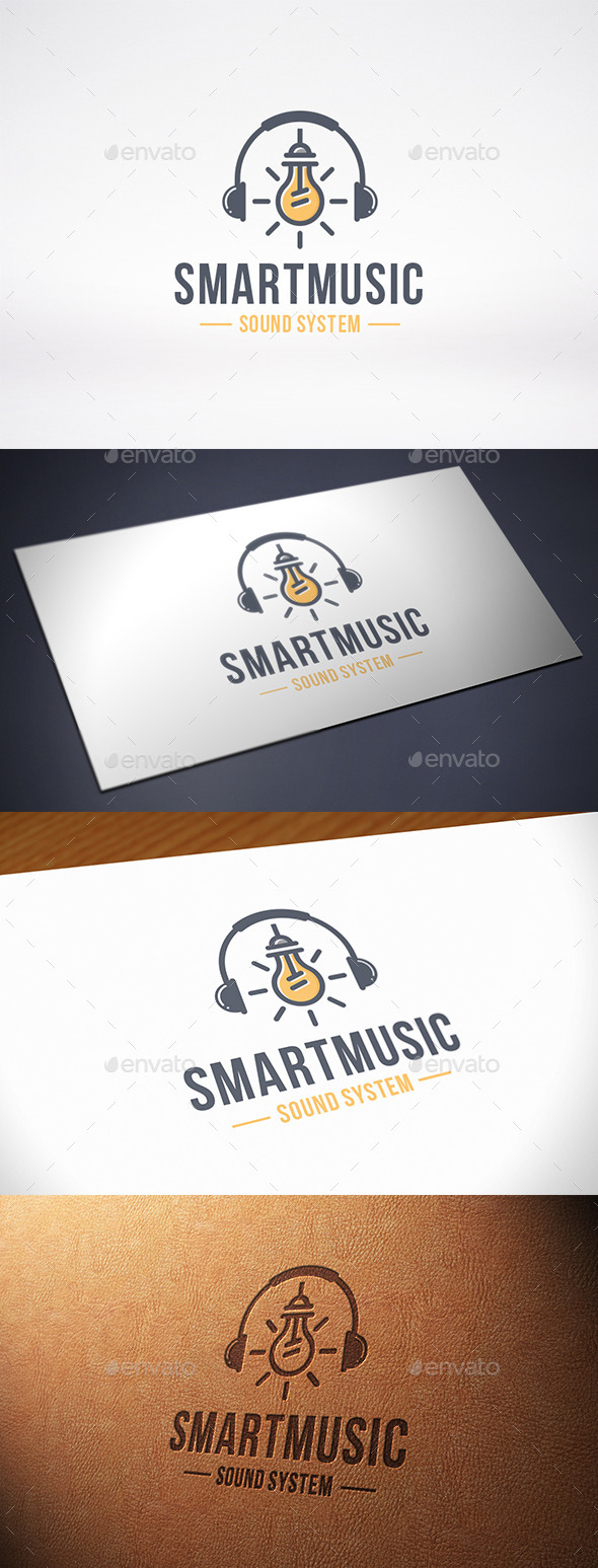 Music Idea Logo Template - Objects Logo Templates