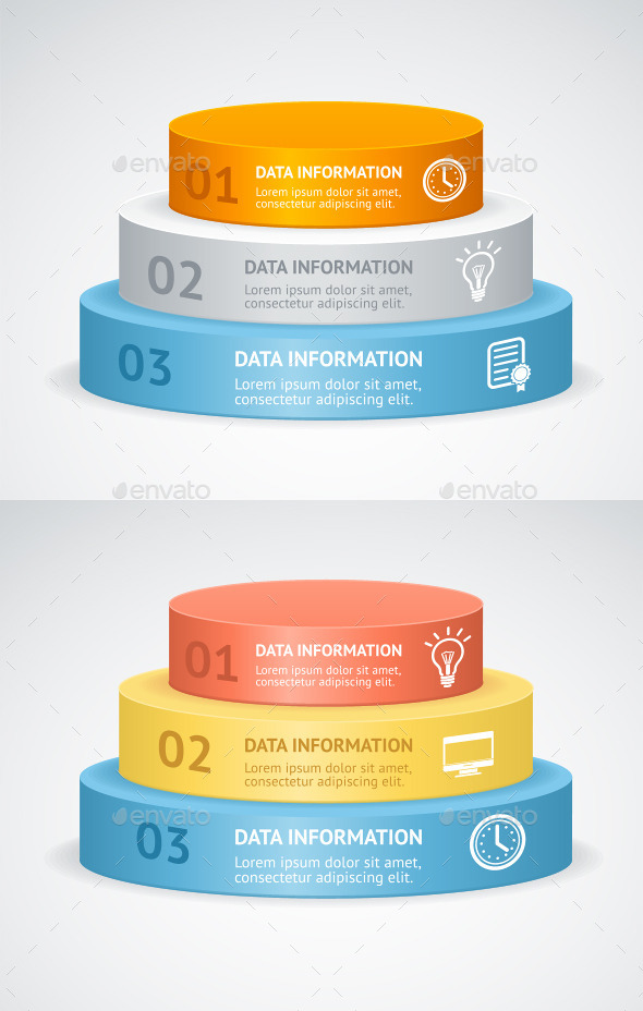 Vector Infografic Podium - Business Conceptual