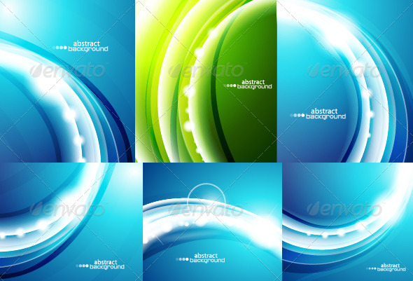 Wavy backgrounds - Backgrounds Business