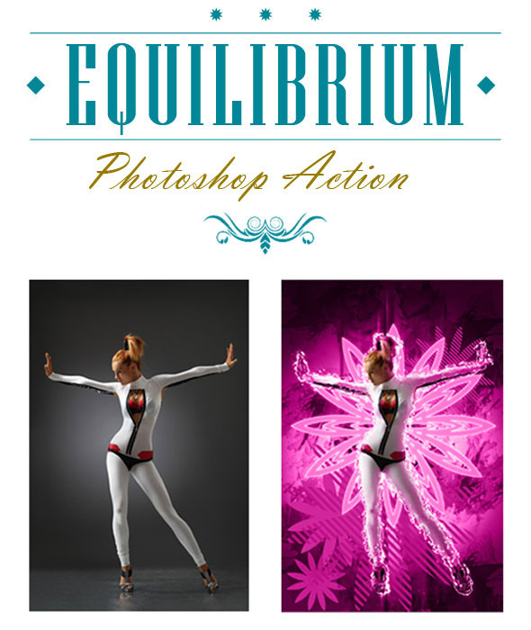 Equilibrium Photoshop Action - Photo Effects Actions