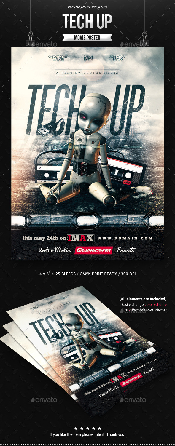 Tech Up - Movie Poster - Miscellaneous Events