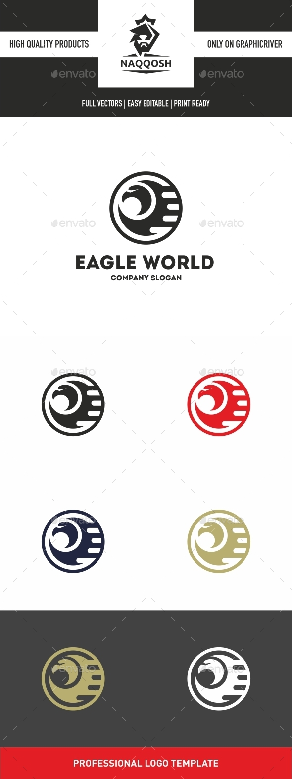 Eagle World - Logo Templates
