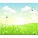 Clean Spring Scenery - GraphicRiver Item for Sale