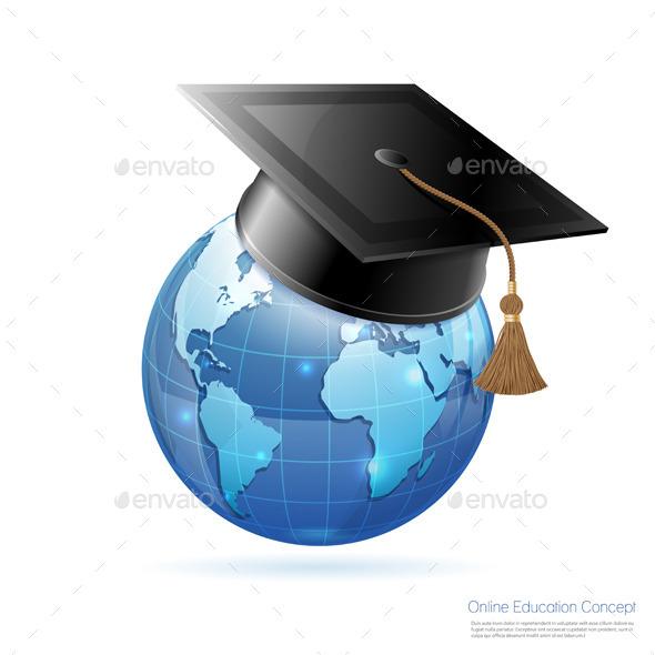 Online Education Concept - Web Technology