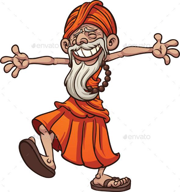 Happy Guru - Characters Vectors