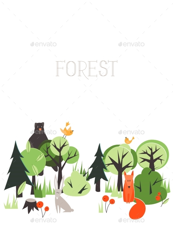 Forest Animals  - Seasons Nature