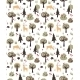 Forest Animals Pattern - GraphicRiver Item for Sale