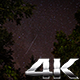 Stars in the Sky Over Trees with Shooting Stars - VideoHive Item for Sale