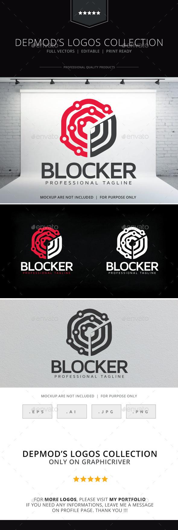 Blocker Logo - Abstract Logo Templates