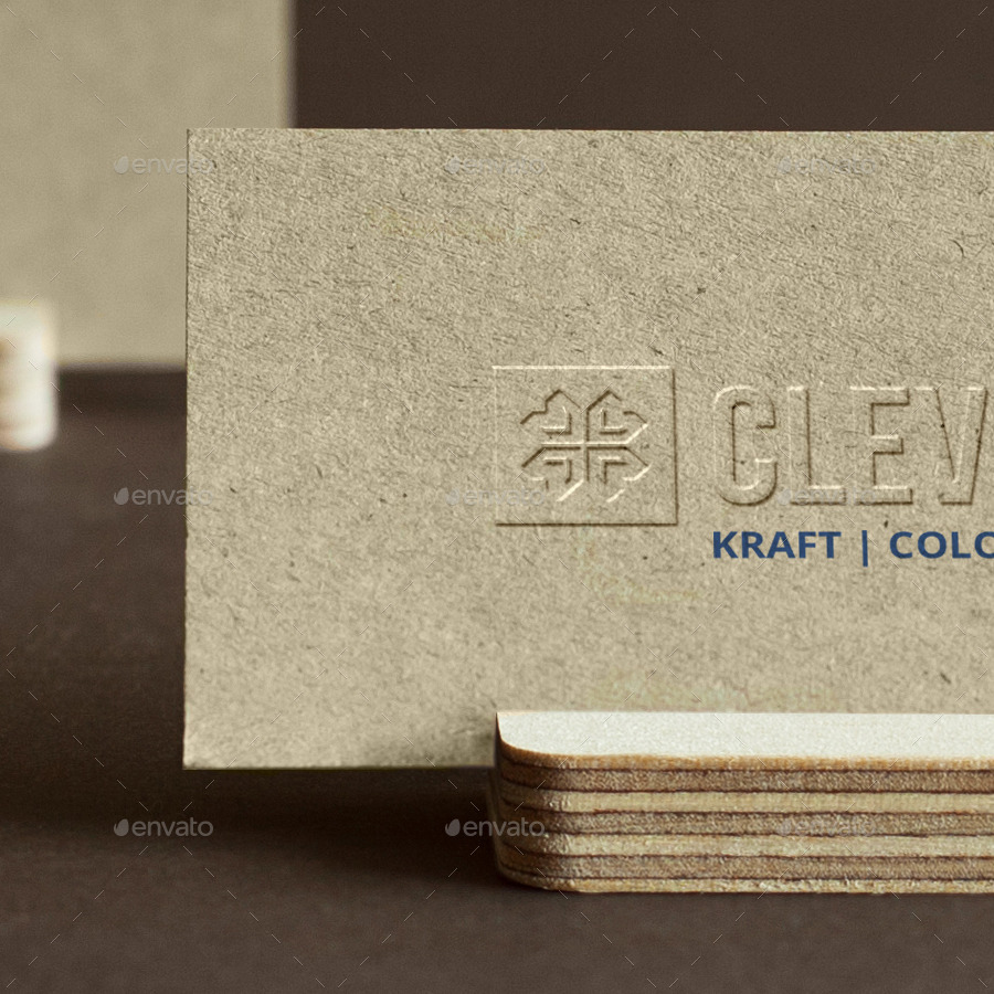 Branding / Identity / Business Card Mock-Up by Clevery   GraphicRiver